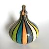 Streeppot, keramiek, 18 cm