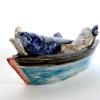 Love Boat, keramiek,  6 x 15 x 7 cm
