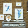 Reprise van de 4e HARINGtentoonstelling in Galerie Posthuys. Te zien t/m 28 juli 2013. Op deze foto werken van Laura Hoek en Gertjan Scholte-Albers.