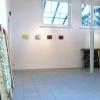 Inrichten van de expositie met werk van Jolanda van Gennip, woensdag 3 april 2013.