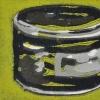 Pot inkt (2011) linodruk (oplage 8) 15 x 20 cm