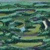 Drassig weiland (2012) linodruk (oplage 6) 20 x 30 cm