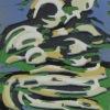 Wolk V (2011) linodruk (oplage 11) 20 x 15 cm
