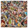 Marianne van Heeswijk: Nature is art enough III, mixed media, 100 x 100 cm.