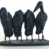 Maraboes klein, brons 3/12, 12 x 17 x 6 cm