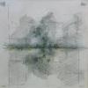 Danielle Vidal: zt 2016 grafiet en inkt op transparant papier 20 x 20 cm 325 euro