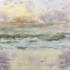 Noordzee 8 (2018) olieverf op paneel, 10 x 20 cm
