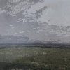 De Schorren (2021) linosnede 1/5, 38 x 53 cm