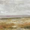 De Schorren (2021) olieverf op paneel, 13,5 x 26,5 cm