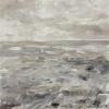 Het Wad (2021) olieverf op paneel, 17,5 x 17,5 cm