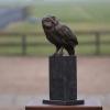 Steenuil, brons (oplage 12) 31 x 15 x 11 cm