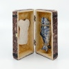 Lunchbox, keramiek, 15 x 15 x 8 cm