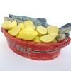 Lemon lovers, keramiek, 12 x 28 x 16 cm