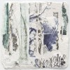 Ellen Geerts: The Forest 2, inkt op papier, 10 x 10 cm (lijst 19 x 19 cm). 145 euro
