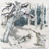 Ellen Geerts: The Forest 4, inkt op papier, 10 x 10 cm (lijst 19 x 19 cm). 145 euro