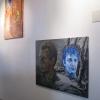Hein Vandervoort; inrichting van de expositie in Galerie Posthuys (najaar 2013)