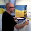 Marian Smit en Maurice Christo van Meijel: Koolzaad (2016) installatie