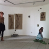 3 juni 2013: Marit Dik heeft haar installatie Who Will Love A Little Sparrow? ingericht.
