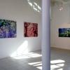 Achterwand met drie werken van Hans Mutsers (voorjaar 2017)