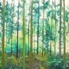 Anloo (2014) olieverf op doek, 75 x 150 cm