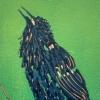 Spreeuw (2020) linodruk (oplage 12) 30 x 20 cm