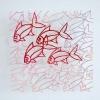 Zonder titel (2014) papier en draad 25 x 25 cm