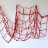 Flexibel (2020) papier en draad, 90 x 90 cm