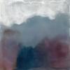 Landschap XIX (2020) encaustiek op paneel, 9 x 9 cm