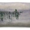 Dark sheep, gemengde techniek op keramiek, 6,5 x 11 x 3 cm