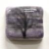 Blur, mixed media op keramiek, 5,5 x 6,5 x 2 cm