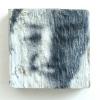 Memories, mixed media op hout, 9 x 9 cm