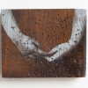 Touch 3, mixed media op hout, 8,5 x 10,5 cm