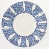 Bord (2021) onderglazuur op aardewerk, 43 x 43 x 8 cm