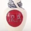 Ira (2013) onderglazuur op keramiek, hoogte 23 cm.
