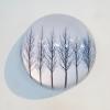3-Waarneming in glazen bol, fotoprint, diameter 15 cm