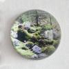 2-Waarneming in glazen bol, fotoprint, diameter 10 cm