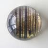 5-Waarneming in glazen bol, fotoprint, diameter 10 cm