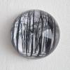 4-Waarneming in glazen bol, fotoprint, diameter 10 cm