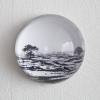 7-Waarneming in glazen bol, fotoprint, diameter 10 cm