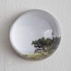 8-Waarneming in glazen bol, fotoprint, diameter 10 cm