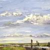 Steiger van Sil (2018) olieverf op doek, 30 x 40 cm
