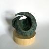 Versmelting xs, brons, 8 x 8 x 8 cm