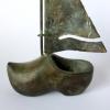 Klomp, brons, 19 x 12 x 5 cm