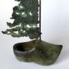 Klomp, brons, 20 x 13 x 6 cm